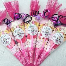 5 X LOL SURPRISE DOLL themedPre Filled Party Cones Personalised+Free Sweety Bag