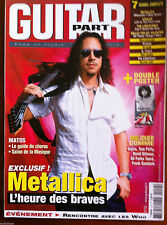 Guitar Part n°152; Metallica/ rencontre avec les Who/ 7 scores complets