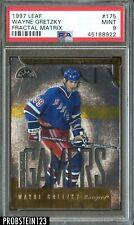 1997 Leaf Fractal Matrix Wayne Gretzky New York Rangers HOF PSA 9 MINT