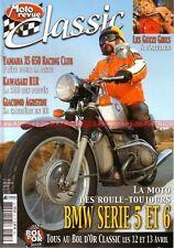 MOTO REVUE CLASSIC 37 KAWASAKI 500 H1 R BMW R50 R60 R75 R90 /5 /6 /6 R90/S R90S
