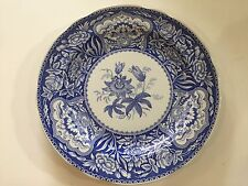 """The Spode Blue Room Collection """"Floral"""" Dinner Plate, 10 1/4"""" Diameter"""