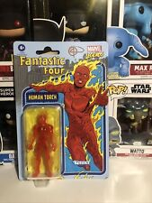 ?2021 Kenner Marvel Legends Retro Human Torch Action Figure Vintage Style
