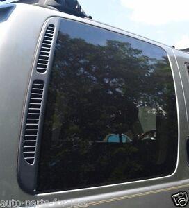 2001-2003 INFINITI QX4 PASSENGER RIGHT REAR QUARTER PANEL GLASS WINDOW OEM