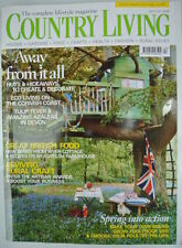 April Home & Garden Country Living Magazines in English