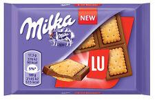 MILKA & LU Alpine Milk Chocolate Bar with LU Biscuits 35g 1.2oz