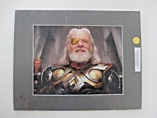 Odin photo SIGNED by Anthony Hopkins! COA included.