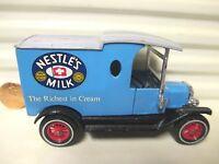 LESNEY MATCHBOX 1981 MODELS of YESTERYEAR Y12C Blu Nestles 1912 Ford Model T NM*