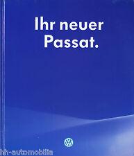 VW Ihr neuer Passat Originales Volkswagen Buch 1997 dick thick book livre