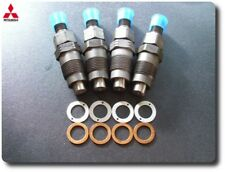 MITSUBISHI L200 L300 2.5 TD 4D56 NEW INJECTORS SET OF 4