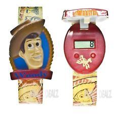 Disney Toy Story Woody's Roundup Flip Top Watch