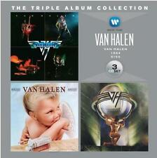 VAN HALEN The Triple Album Collection 3CD BRAND NEW Self-Titled/1984/5150
