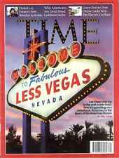 Time Magazin - Las Vegas Real Estate Büste USA, Goldman Sachs - August 31 2009
