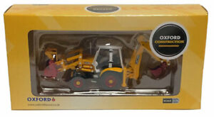 Oxford JCB 3CX Eco Backhoe Loader '70th Anniversary' Die-Cast Model - 1/76 Scale