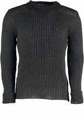 WOOL NATO / ARMY JUMPER. WOOLLY PULLY. OUTDOOR,UNIFORM,SECURITY,MILITARY, #09024