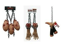 Life Sized Severed Body Parts Props Limb Chains Halloween Hanging Decoration