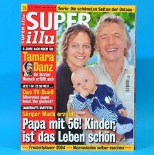 Super Illu 24-2004   03.06.2004 Tamara Danz Muck 2 Jahre nach Flut Abrafaxe