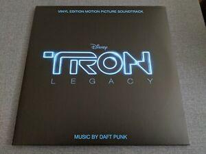 Tron Legacy Vinyl Edition Motion Picture Soundtrack Daft Punk 2015 Reissue 2LP
