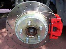 Chrysler 300 C Sport Bremsscheibe EBC Turbo Groove Disk hinten Bremsen Scheibe
