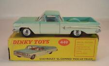 Dinky Toys England 449 Chevrolet El Camino turqouise lt.blue interior MIB #6660