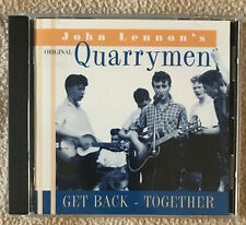 John Lennon From the Beatles 1997 QUARRYMEN ' GET BACK TOGETHER ' CD