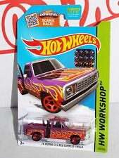 Hot Wheels 2015 Factory Set Heat Fleet #215 '78 Dodge Li'l Red Express Purple