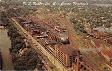 Eau Claire Wisconsin US Rubber Company Vintage Postcard (J15511)