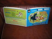 SYLVAIN ET SYLVETTE SERIE 2 N°76 ZOUZOU FAIT DES SIENNES -EDITION ORIGINALE 1975