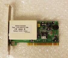 """Interne PCI-Modem-Karte: """"HAM"""" 56k V.90 PnP Chipsatz MD5628D CE 0682"""