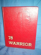 1978 Warrior Yearbook --  Everett Area High School --  Everett, Pennsylvania