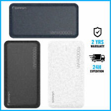 USAMS Mosaic 10.000mAh External Power Bank Chargeur Battery USB Charger Portable