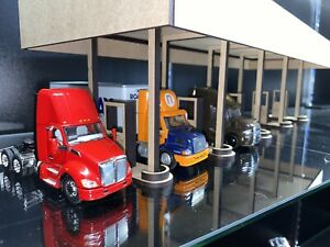 1/64 Fuel Island Gas and Diesel Station Truck Stop for Cars Semis DCP PEM ERTL