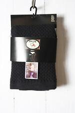 Bonnie Doon Skirt Popcorn Stitch Skirt Size S NEW Black