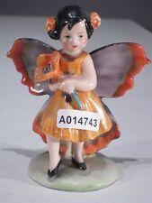 +# A014743 Goebel Archiv Muster Arbeitsmuster Fee mit Blume Flügel rot grau