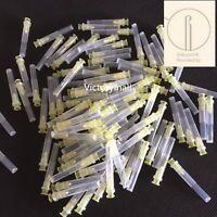 Dental 100PCS Endo Irrigation needle tip 30GA End-Closed Side Hole Endo Syringes