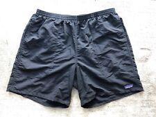 "Patagonia Men's Baggies Shorts Large 7"" Inseam Black Brief Swim Liner 58033"