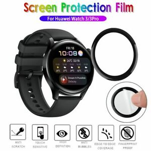 Curved Edge Cover Screen Protector 3D Protective Film For Huawei Watch 3/3 Pro