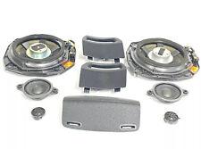 R172 MERCEDES 2012 SLK350 LOGIC 7 SOUND SYSTEM DOOR SPEAKER SUBWOOFER Set OEM