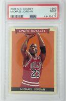 2009 Upper Deck Sport Royalty Michael Jordan #260, Graded PSA 9, Pop 10, 13 ^