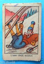 figurines cromos figurine umoristiche anni 30 40 v.a.v. vav sci ski skiing esquì