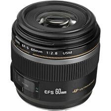 Canon EF-S 60mm f/2.8 Macro USM Lens New!
