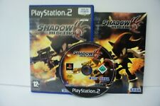 Shadow the Hedgehog - PS2 PAL Complete