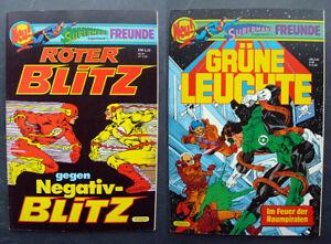 Superman's Freunde 1, 3 Roter Blitz/Grüne Laterne, Top-Zustand!