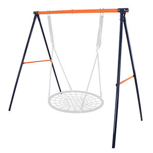 Spider Web Tree 48'' Swing Metal A-Frame Swing Set Frame Stand Playgrounds