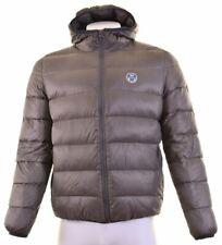 NORTH SAILS Mens Padded Jacket Size 40 Large Grey Nylon  JQ25