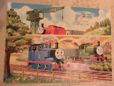 Vintage Ravensburger Thomas the tank engine floor jigsaw puzzle 24 pieces 1980's