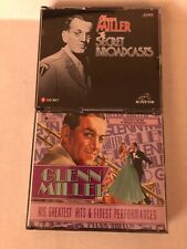 Glenn Miller Lot of 6 CD's The Secret Broadcasts & His Greatest Hits...