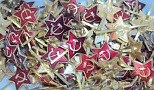 40 x Russian USSR Soviet Military Army Forage / Side Cap Badges / Insignia