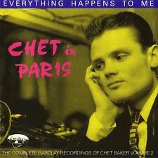 Chet Baker - Chet In Paris Volume 2 ( CD - Compilation )