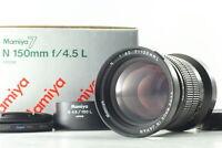 [N Mint in Box w/ Hood] Mamiya N 150mm f4.5L MF Lens For Mamiya 7 7II From Japan