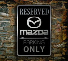 Mazda Parking Only Sign – Mazda Signs